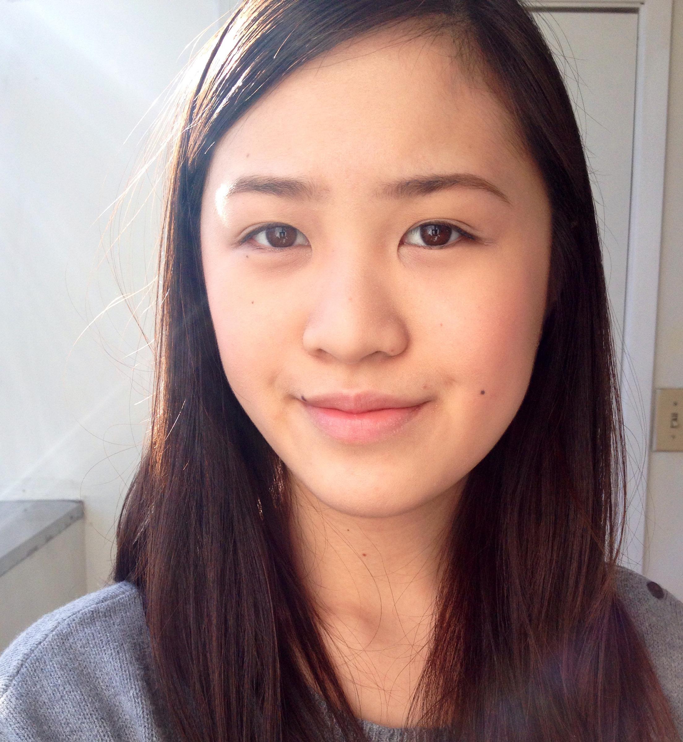 Asian voyeur blonde POV